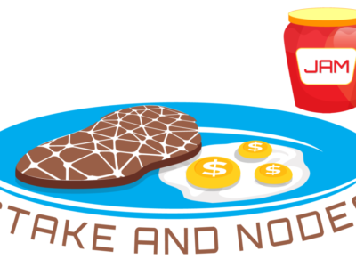 Stake and nodes logo