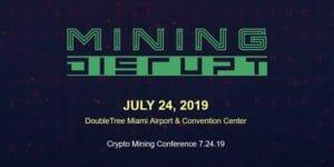 Mining Disrupt 2019 logo