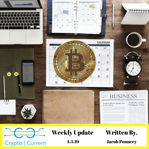 Weekly Update 4.3.19 logo Crypto