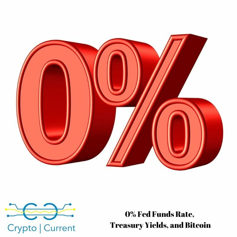 0% Fed Funds Rate, Treasury Yields, and Bitcoin