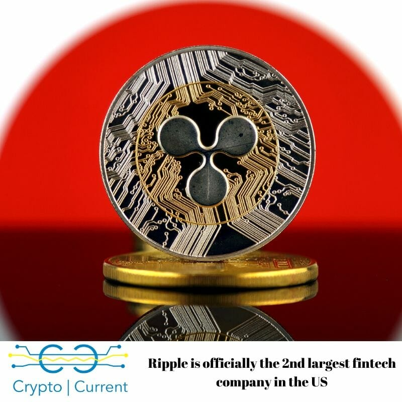 Ripple is officially the 2nd largest fintech company in the US