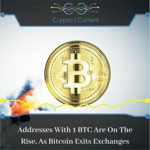 Addresses With 1 BTC Are On The Rise, As Bitcoin Exits Exchanges