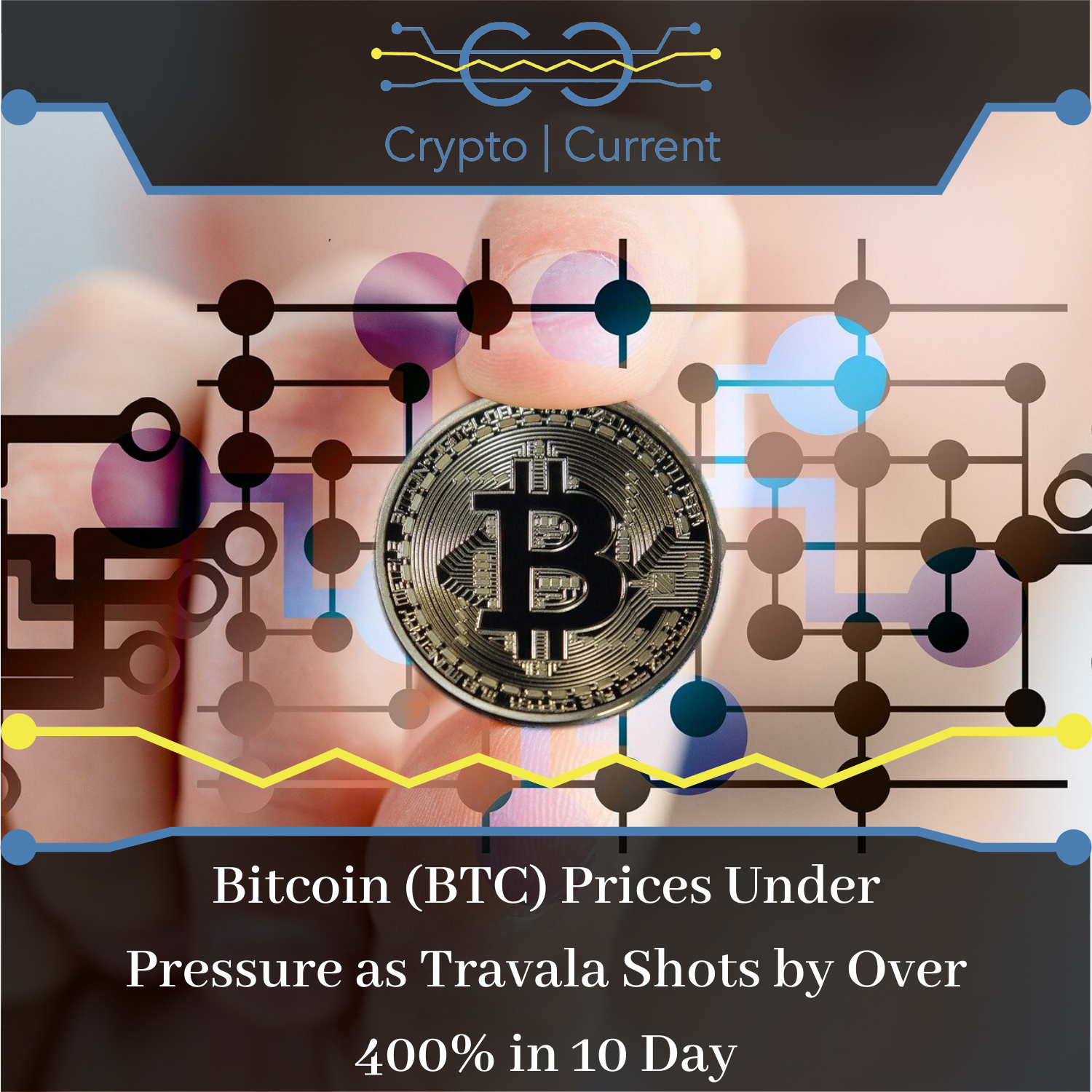 Bitcoin (BTC) Prices Under Pressure as Travala Shots by Over 400% in 10 Day