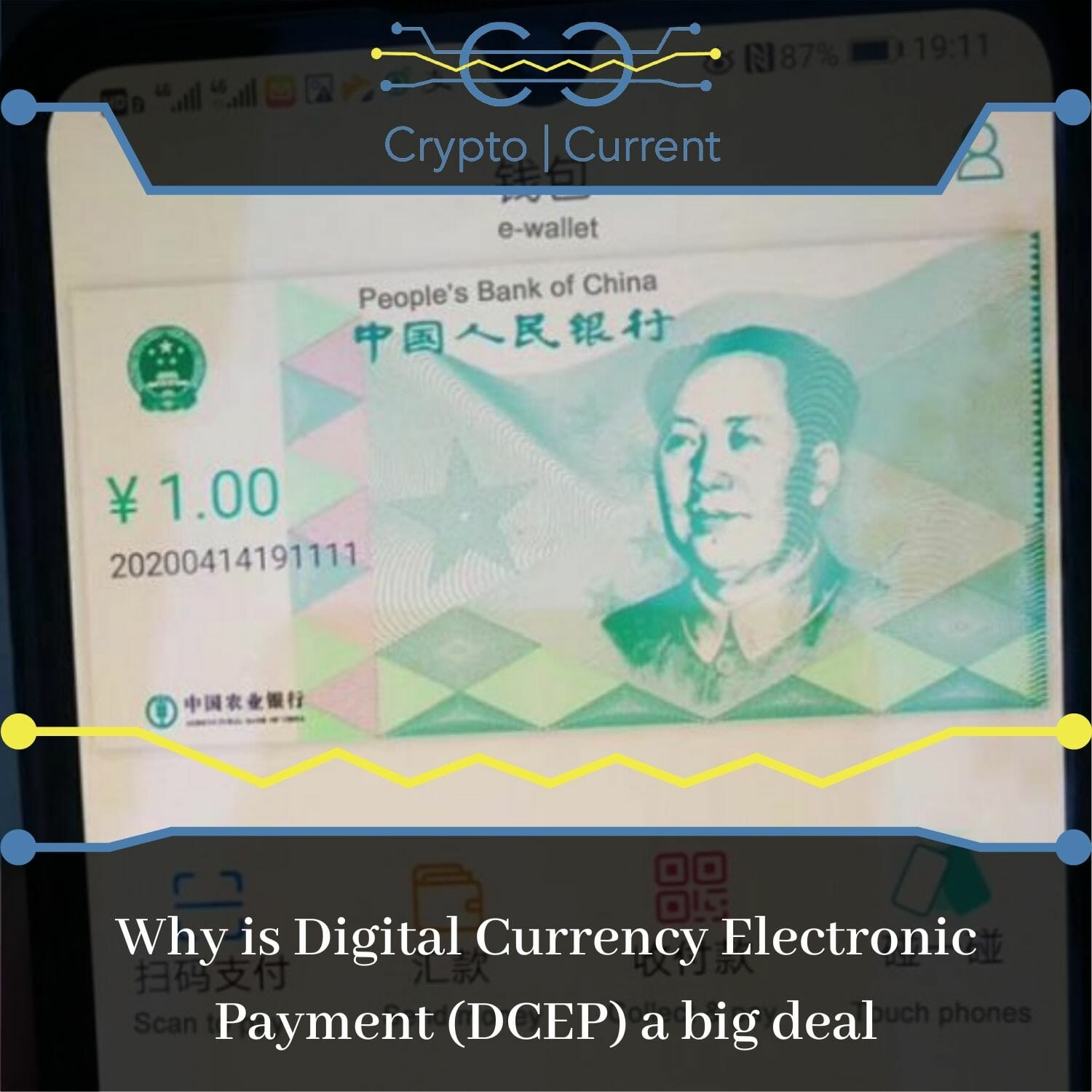 Why is Digital Currency Electronic Payment (DCEP) a big deal