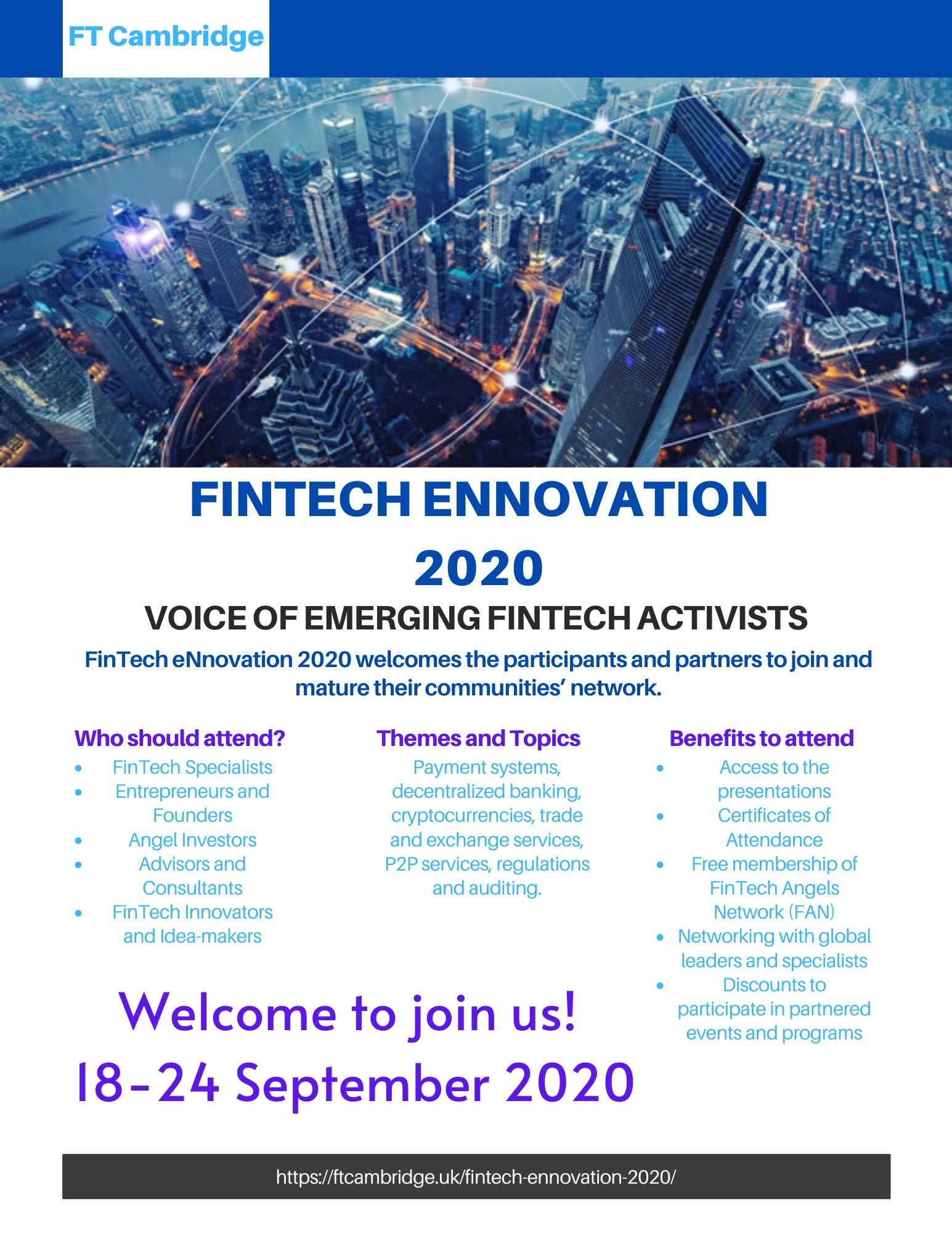 FinTech eNnovation 2020