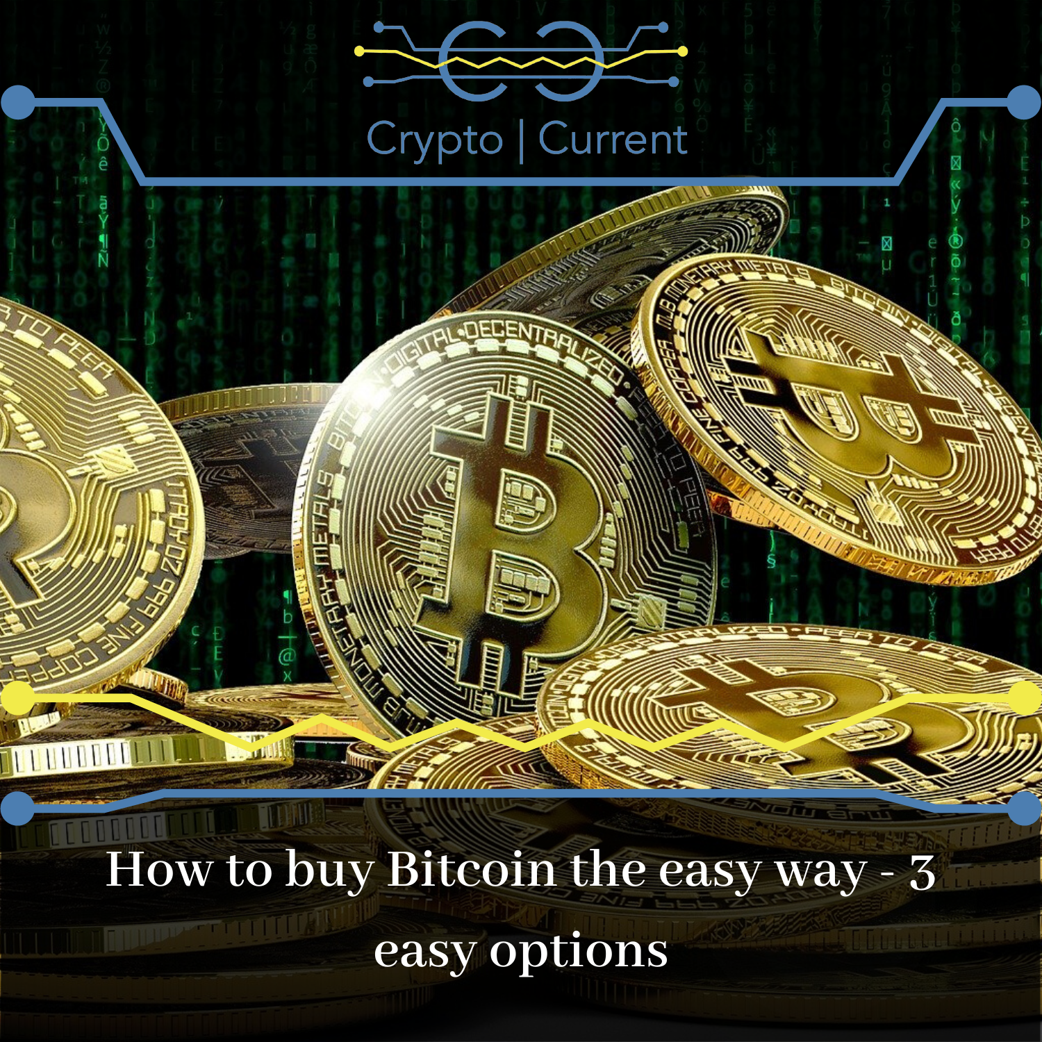 How to buy Bitcoin the easy way - 3 easy options