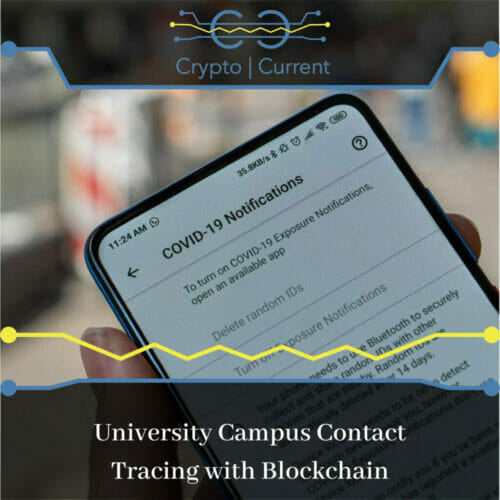 University Campus Contact Tracing with Blockchain