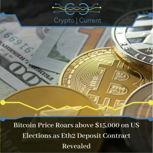 Bitcoin Price Roars above $15,000 on US Elections as Eth2 Deposit Contract Revealed