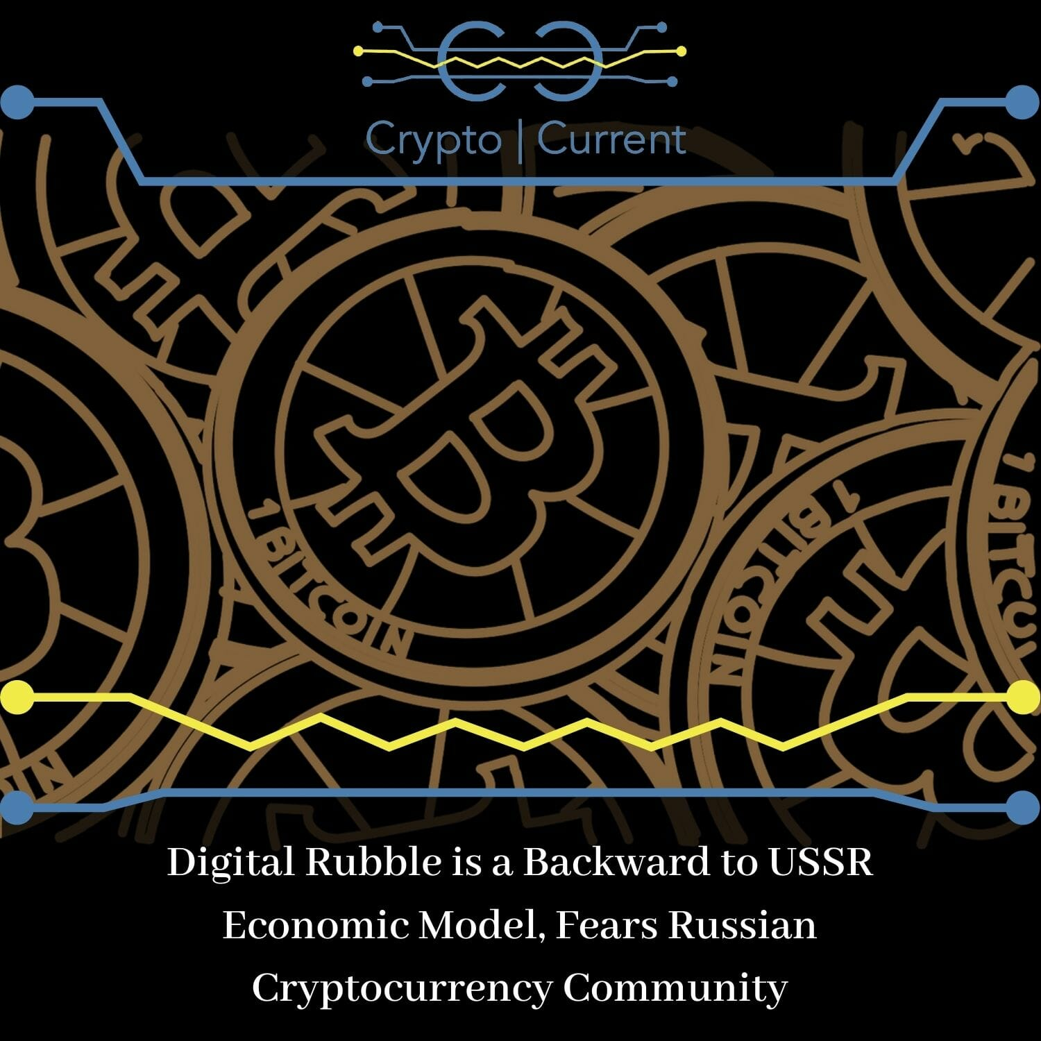 Digital Rubble is a Backward to USSR Economic Model, Fears Russian Cryptocurrency Community