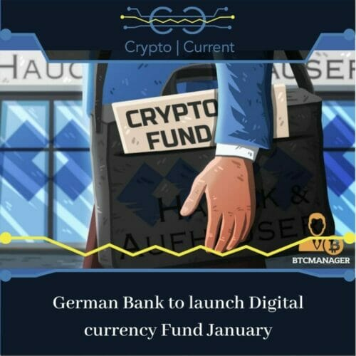 German Bank to launch Digital currency Fund January
