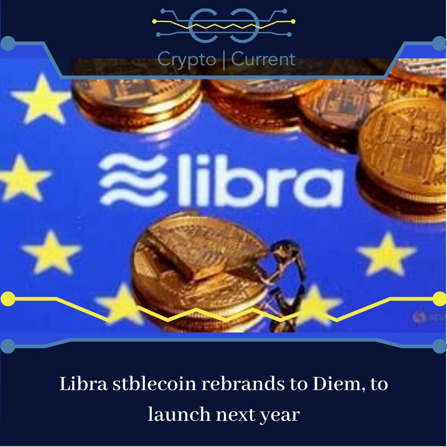 Libra stablecoin rebrands to Diem, to launch early next year