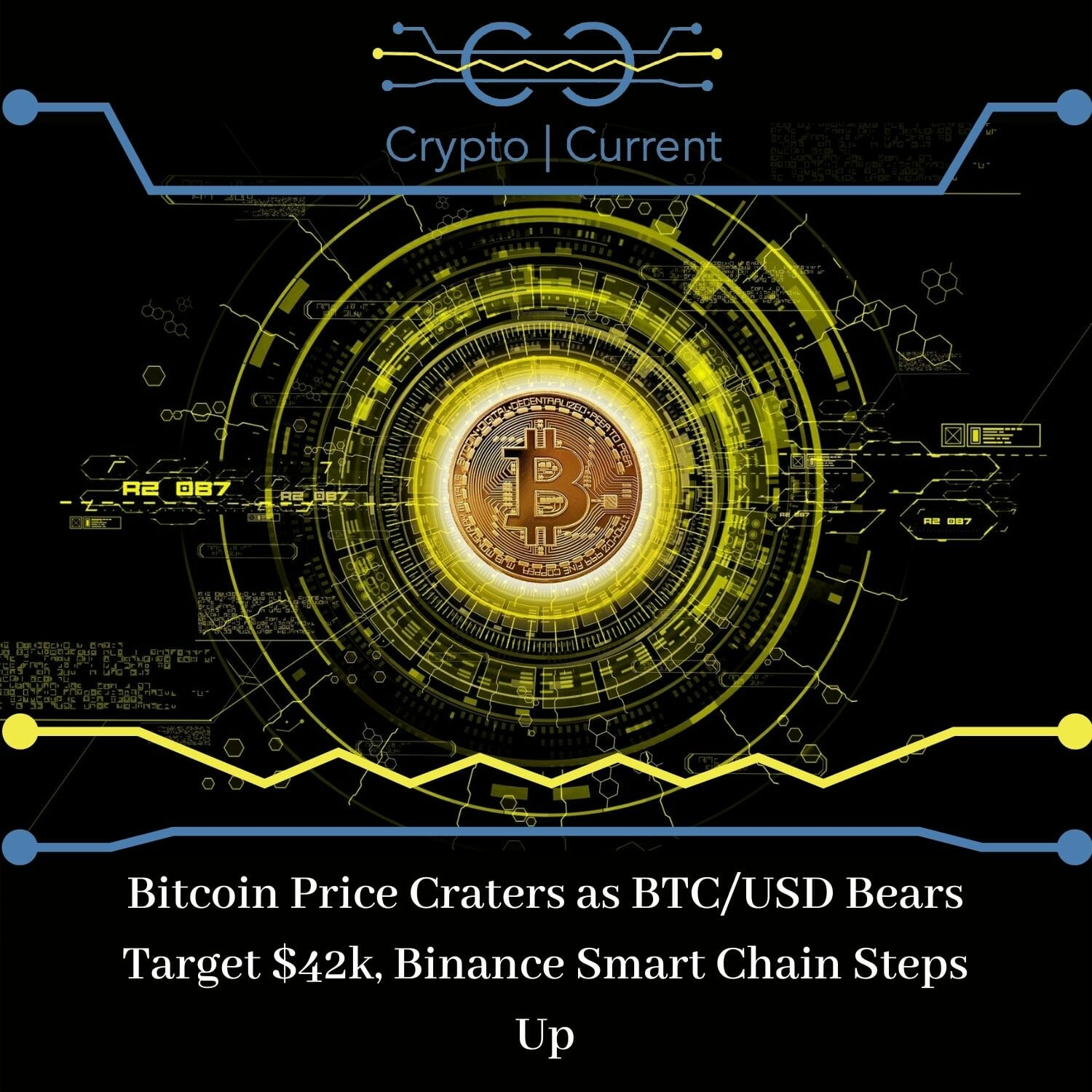 Bitcoin Price Craters as BTC/USD Bears Target $42k, Binance Smart Chain Steps Up