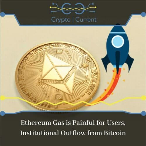 Ethereum Gas is Painful for Users, Institutional Outflow from Bitcoin