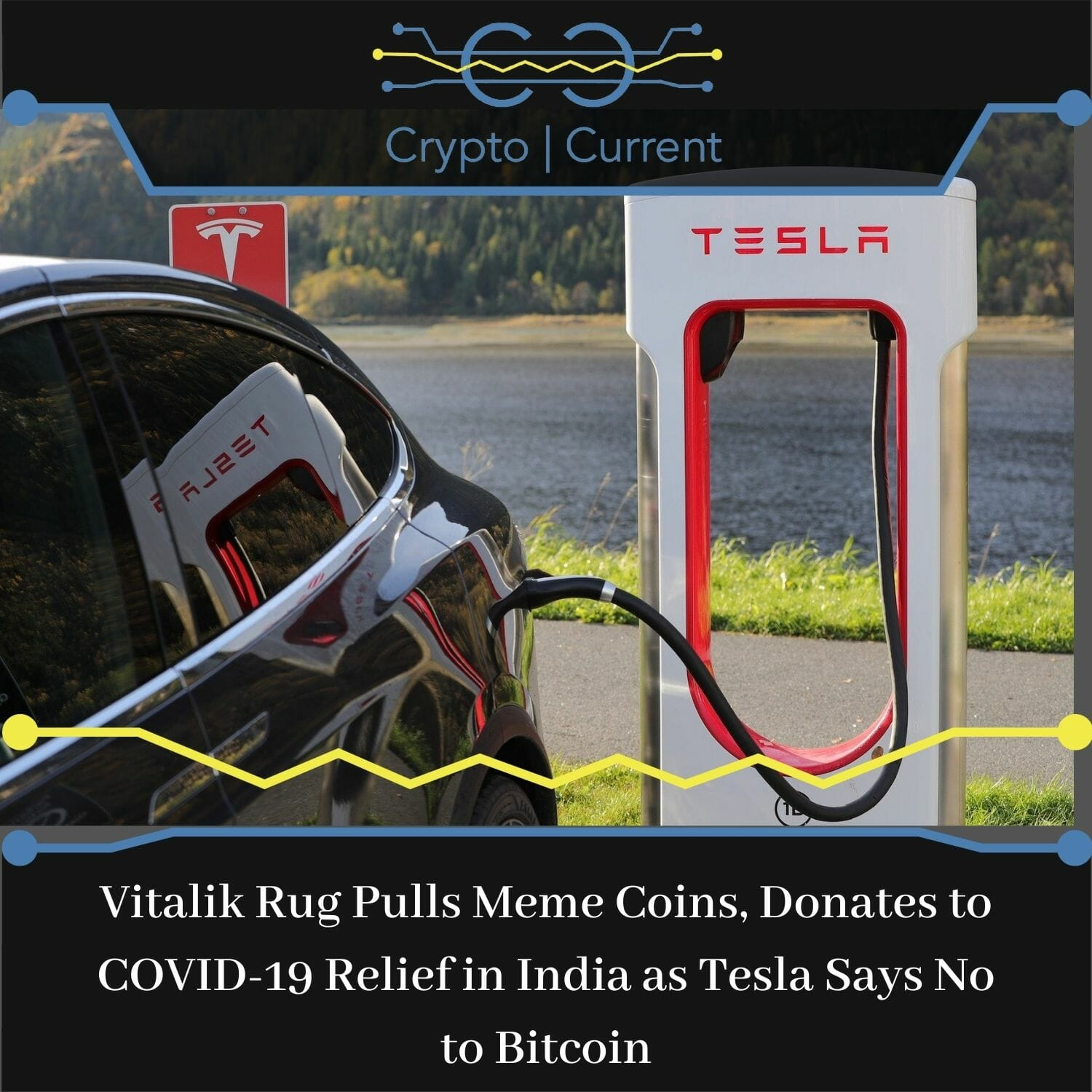 Vitalik Rug Pulls Meme Coins, Donates to COVID-19 Relief in India as Tesla Says No to Bitcoin