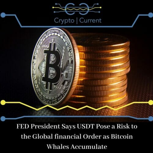 FED President Says USDT Pose a Risk to the Global financial Order as Bitcoin Whales Accumulate us federal reserve