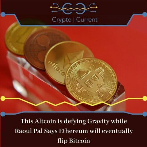 crypto forecast ~This Altcoin is defying Gravity while Raoul Pal Says Ethereum will eventually flip Bitcoin