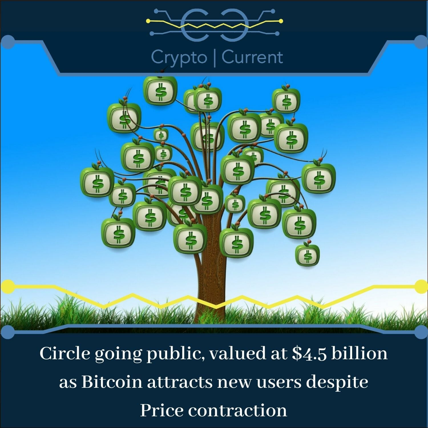 cryptocurrency predictions Circle going public, valued at $4.5 billion as Bitcoin attracts new users despite Price contraction
