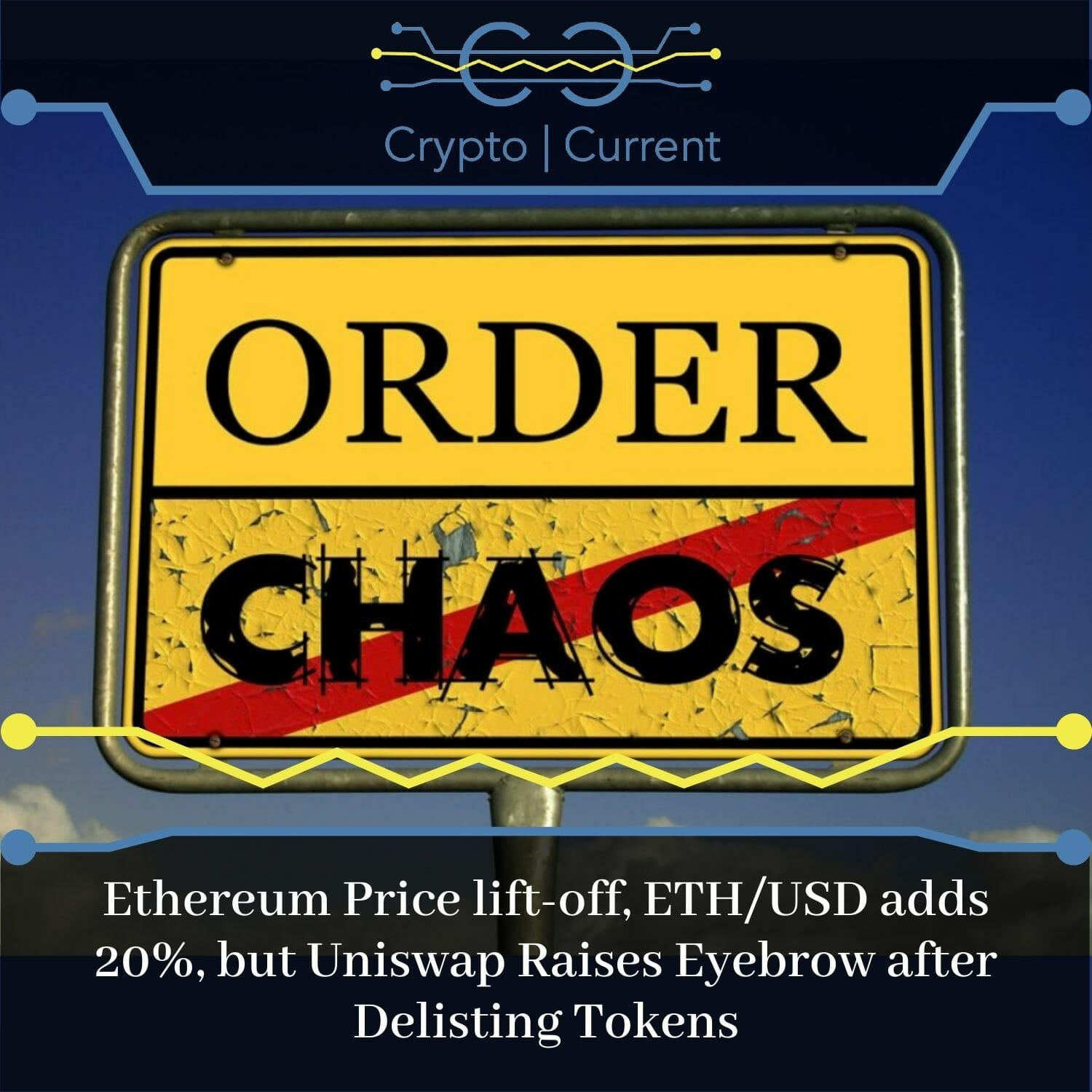 Ethereum Price lift-off, ETH/USD adds 20%, but Uniswap Raises Eyebrow after Delisting Tokens