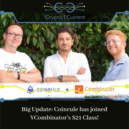 Big Update Coinrule has joined YCombinator's S21 Class!